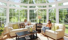 Now this is what I call a Sunroom!!