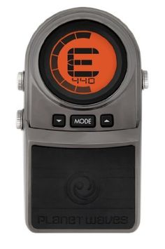 Planet Waves Tru-Strobe Pedal Tuner w/ True Bypass by Planet Waves. $57.01. Amazon.com                The Planet Waves Tru-Strobe Pedal Tuner is the perfect tool for live performance, recording and setting intonation. The variance between the input frequency and perfect pitch is displayed as motion on the easy-to-read circular LCD interface. When the motion stops you are perfectly in tune to +/- 0.1 of a cent! Get professional tuning accuracy in a rugged, heavy-duty d...