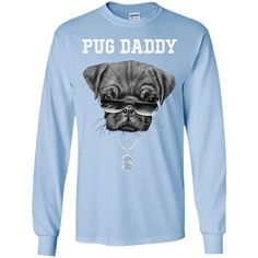 Pug Daddy Father's Day T-shirt