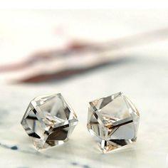 7606155845 Lovely crystal earrings Crystal Earrings