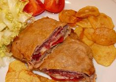 El rincón asturiano: Receta de Cachopo en El Rincón Asturiano Tapas Recipes, Steak Recipes, Vegetarian Recipes, Cooking Recipes, Breakfast Lunch Dinner, Dessert For Dinner, Best Spanish Food, Banana French Toast, Cuban Cuisine