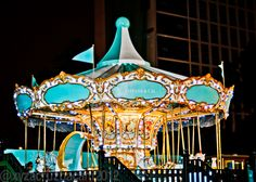 Ever since I was a little girl, I've been enchanted by carousels. The Tiffany & Co. carousel is the most beautiful in the world