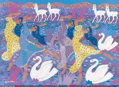 BEN SALEM Aly, 1910-2001 (Tunisia) Title : Danseuses