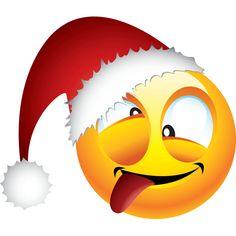 Smile Drunk Santa Emoticons Smiley Bumper Sticker x Smiley Emoji, Cute Emoji, Emoticon, Smiley Faces, Smileys, New Sticker, Bumper Stickers, Emoji Symbols, Emoji Images