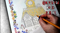In this step by step beginners tutorial, I'm coloring the Gingerbread House from the Johanna's Christmas coloring book by Johanna Basford. It's another gorge...