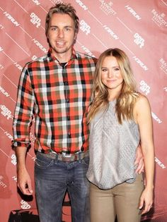 Kristen Bell and Dax Shepard Consult Tom Arnold For On-Screen Intimacy Tips - And Hilarity Ensues - The Bert Show Beautiful Couple, Gorgeous Men, Kristen Bell And Dax, Dax Shepard, Hollywood Couples, Expecting Baby, Celebs, Celebrities, Cute Couples