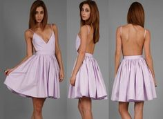 backless summer dress... granted you'd have to have a nice back and a little boobage and double sided tape to wear it.