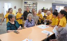 Intergenerational Program - Finley Regional Care Aged Care, Easter Pictures, Primary School, Regional, Programming, Singing, Reading, Children, Young Children