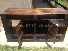 IMG 0203 600x450 Pallets TV stand  in pallet furniture  with Pallets Pallet tv stand
