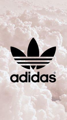 Adidas Originals Trefoil Tee T-shirt - Black Adidas Backgrounds, Cute Backgrounds, Cute Wallpapers, Nike Wallpaper, Cool Wallpaper, Adidas Iphone Wallpaper, Victorias Secret Models, Adidas Shoes, Teen Fashion