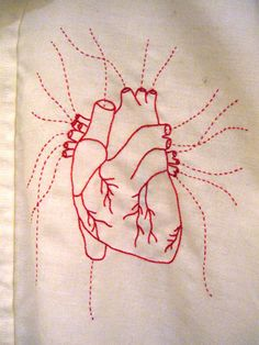 Anatomical embroidery? Why not!
