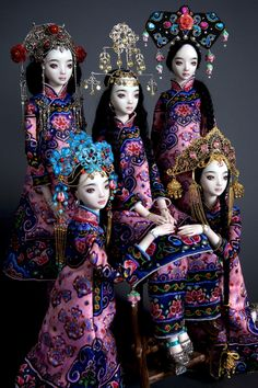 Gypsy House Designs: Enchanted Doll ~ Marina Bychkova