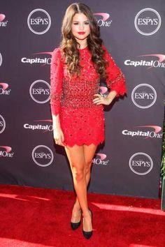 Selena Gomez arrives at the 2013 ESPY Awards at #NokiaTheatre L.A. Live on July 17, 2013 in Los Angeles http://celebhotspots.com/hotspot/?hotspotid=5718&next=1