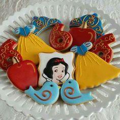 Galletas decoradas de Blanca  Nieve