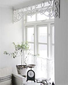 Trouvailles Pinterest: Habillage fenêtres Source: simply-scandinavian.blogspot.co.uk