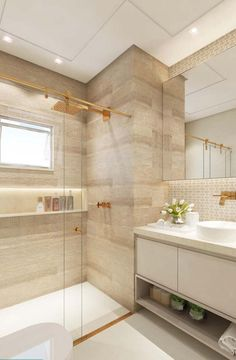 What You Need to Do About Small Bathroom Design Ideas Apartment Therapy Starting in the Next 10 Minutes - homesuka Bathroom Design Luxury, Modern Bathroom Design, Bad Inspiration, Bathroom Inspiration, Dream Bathrooms, Small Bathroom, Apartment Interior, Decor Interior Design, House Design