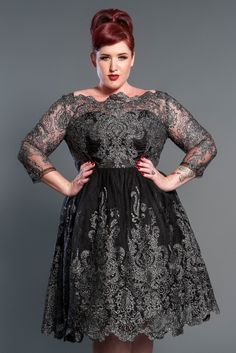 Plus Size Lottie Cocktail Dress