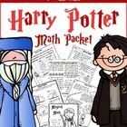 Harry Potter Themed 4th Grade Math Packet - Common Core Aligned!