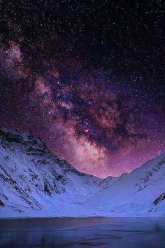 A starlit scene in Kaghan Valley | sky | | night sky | | nature |  | amazingnature |  #nature #amazingnature  https://biopop.com/