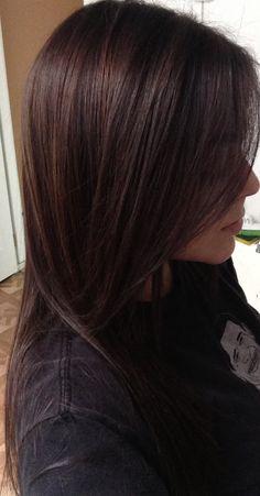 Paul Mitchell PM Shines half 4N half 5N brunette hair color