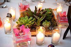 Los Cabos Wedding by Nakai Photography Succulent Centerpieces, Party Centerpieces, Diy Party Decorations, Floral Centerpieces, Mexico Party, Diy Wedding, Wedding Ideas, Summer Wedding, Wedding Stuff