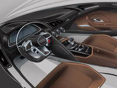 Audi Interior sketch