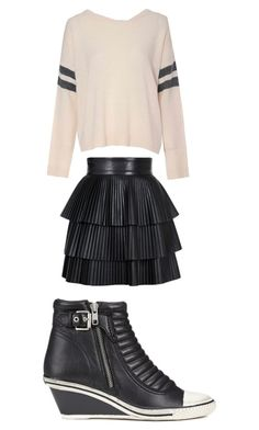 """candy7"" by meanbarbie ❤ liked on Polyvore featuring Balmain, Glamorous and Ash"