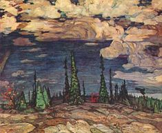 Alexander Young Jackson - Member of the Group of Seven, Canadian Painters - The Art History Archive