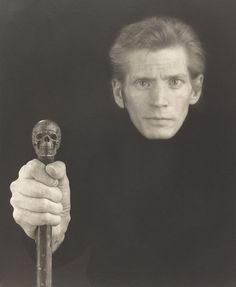 Self-Portrait, 1988, Robert Mapplethorpe, platinum print