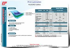 It is a co-extruded, plain and both sides treated, Bi-axially Oriented Polypropylene film.
