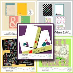 Wow. FIVE -5- free downloads. #digitalprojectlife #projectlife