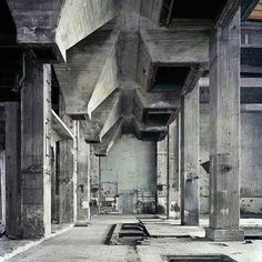 Berghain. Studio karhard converts an old heating plant into a club in Berlin Germany. 2004 . #concrete #architecture #berlin #germany #design #art #sculpture #berghain #techno by the.concrete.project