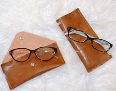 d3e02eb1ab DIY Leather Glasses Case Plus Shopping With Kids for Glasses