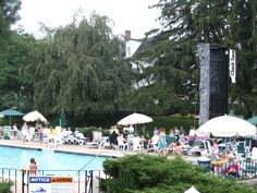 Go swimming in our outdoor heated pool!
