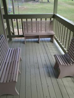 Children's  patio furniture for the playhouse