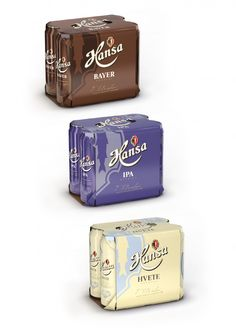 Hansa series of special beer Scandinavian Design Group