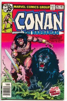 Conan The Barbarian 96 Marvel 1979 VF NM Lion Hulk Hostess Power Man Iron Fist A