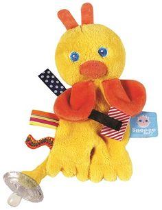Snoozebaby hračka na cumel- Flo