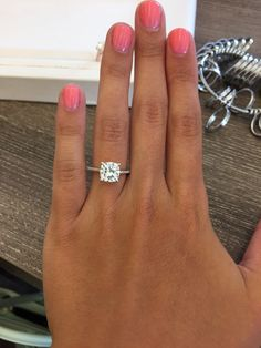 wedding rings solitaire 59 Simple Engagement Rings For Girls Who Love Classic Style wedding-junction Engagement Ring Rose Gold, Engagement Solitaire, Wedding Rings Solitaire, Princess Cut Engagement Rings, Beautiful Engagement Rings, Engagement Ring Cuts, Vintage Engagement Rings, Engagement Rings Cushion, Wedding Bands