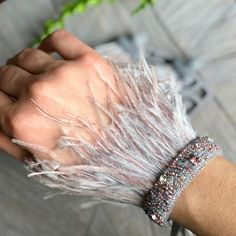 Silver feather bracelet for women Pink feather cuff bracelet charms Beaded cuff bracelet Embroidered bracelet Ostrich feather Friendship Silver feather bracelet for women Pink feather cuff bracelet charms Beaded cuff bracelet Embroidered Pink Feathers, Ostrich Feathers, Beaded Lace Fabric, Beaded Embroidery, Beaded Trim, Beaded Cuff Bracelet, Beaded Jewelry, Bracelet Charms, Gold Bracelets