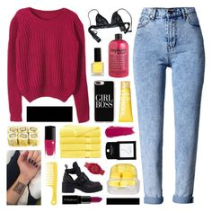 """""""bojana"""" by symone-i ❤ liked on Polyvore featuring WithChic, Chicnova Fashion, philosophy, Casetify, Topshop, Chantal Thomass, Clinique, NARS Cosmetics, Brooks Brothers and Jeffrey Campbell"""