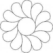Afbeeldingsresultaat voor feather quilting designs free