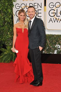 Former Breaking Bad star Aaron Paul broke good and lucked out with the stunning Lauren Parsekian. They've been married since 2013. Featureflash Photo Agency / Shutterstock.com