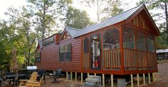 I Thought Sleeping 6 People In This Tiny Cabin Would Be Crazy, Until You See How — Love It! via LittleThings.com