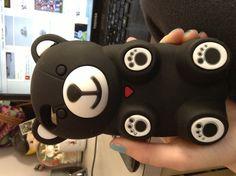 Bear I pod case cute