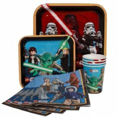 Star Wars Lego Party Pack http://partyzone.com.au/star-wars-lego-party-pack-p-5858.html