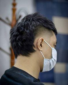 Mullet Haircut, Mohawk Mullet, Asian Haircut, Crop Haircut, Mullet Hairstyle, Roll Hairstyle, Style Hairstyle, Mohawk Cut, Best Fade Haircuts