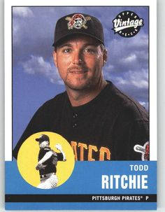2001 Upper Deck Vintage 310 Todd Ritchie - Pittsburgh Pirates (Baseball Cards) * Continue to the product at the image link.