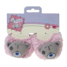 Tatty Teddy Me to You Bear Pink Fluffy Slippers.£4.99