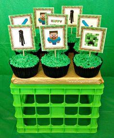 #minecraftparty #cumpleaños #minecraft #cumpleañosminecraft #partyideas…